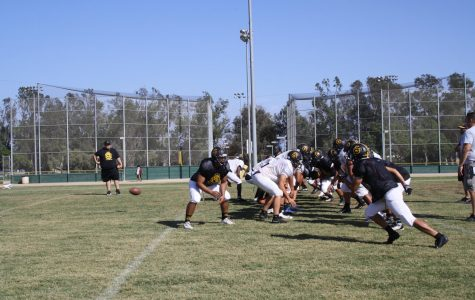 Godinez Football is a Work in Progress