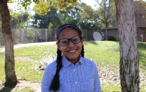 """Iris Pena, 9th grade, Girls' Cross-Country  """"Although Iris has health problems that ideally would make it difficult to perform the sport, she is one of our most dedicated JV runners who continues to improve. Through her hard work, she inspires teammates to not make excuses, keep pushing themselves, and to appreciate the talents that they do have."""" - Coach Arielly Conde"""