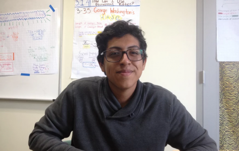 """Eden Peralta, sophomore, says he enjoys pupusas because """"it's a family tradition,"""" and says he avoids cold foods and drinks during this season. Peralta says he helps prepare the food because the whole family gets together to help out as well. Peralta wanted to add that he hates tamales."""