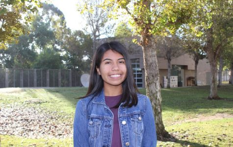 """Veronica Monsisvais, 12th grade, Girls' Tennis  """"Veronica is an exceptional example for her teammates to follow. She maintains a positive attitude, never one to complain. She is dedicated and encourages others to preserve."""" - Coach  Heriberto Cortez"""