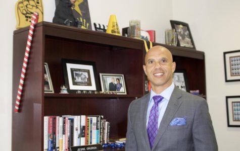 The New Face of Godinez, Principal Jesse Church