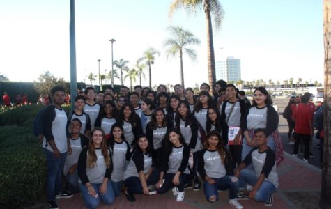 GFHS Choir Performs at Angel Stadium