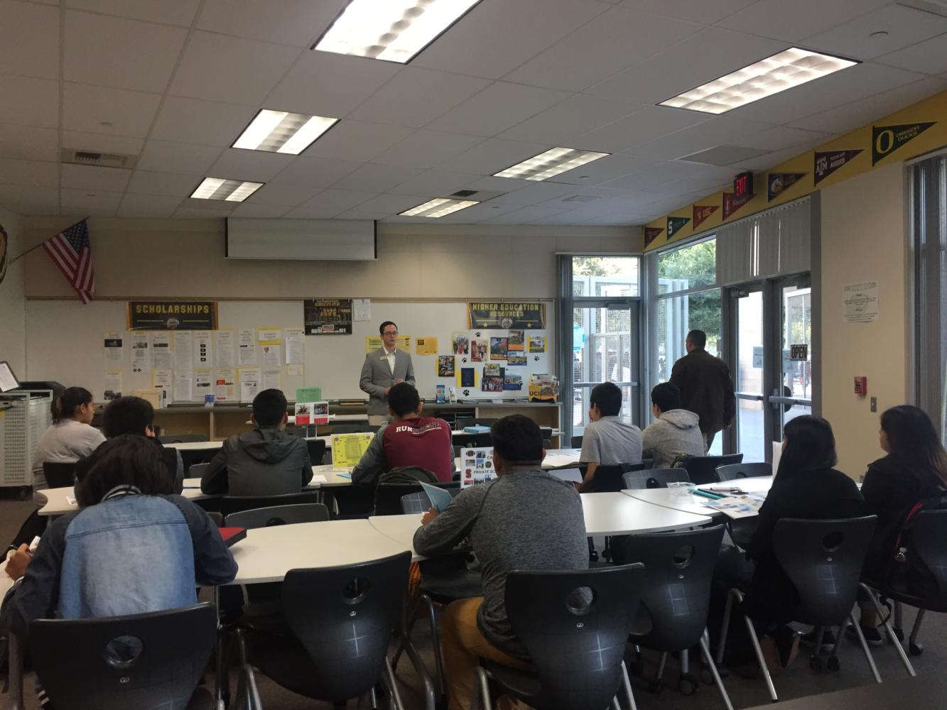Godinez offers several opportunities on campus, such as college visits.