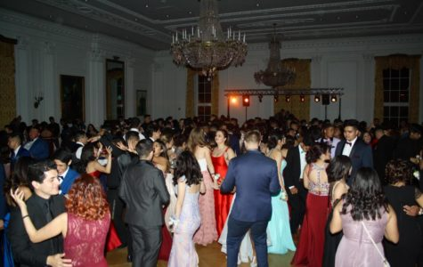 A scene from Godinez Fundamental High School's 2018 prom. This year's prom has been cancelled due to the COVID-19 threat.