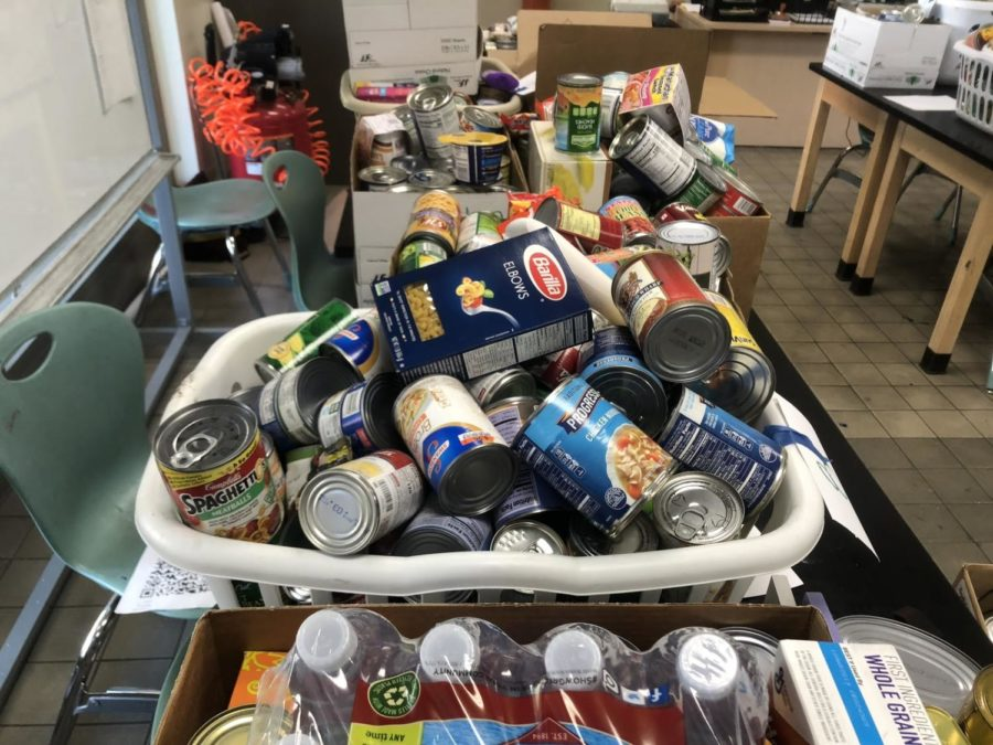 Cans to Aid a Cause