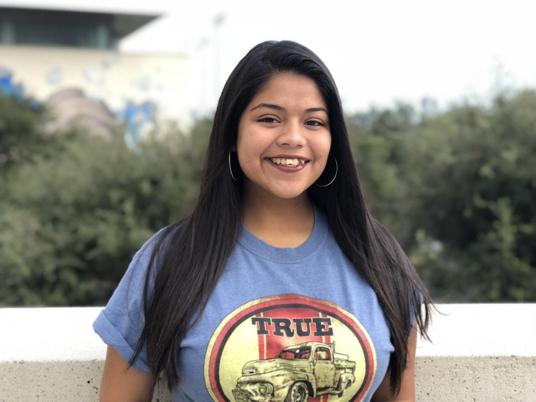 The reporter Alondra Castro today. (Nov 28, 2018)