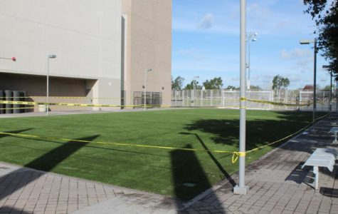 Adding New Turf to Campus was Tough but not Impossible