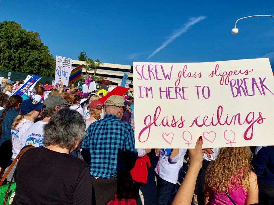 A+wonderful+sign+displayed+during+the+OC+Women%E2%80%99s+March.+Photo+taken+Saturday%2C+January+19%2C+2019+in+Downtown+Santa+Ana+on+Civic+Center+Drive.