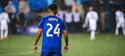 Frankie Amaya Adapts to the Major League Soccer Life
