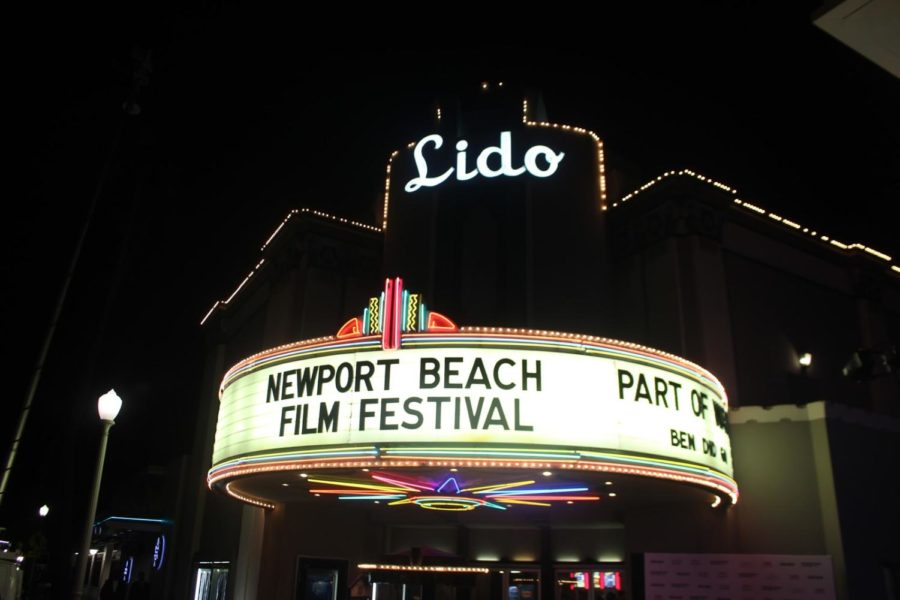 Outside+the+Lido+Theatre+in+Newport+Beach%2C+Calif.+for+the+Closing+Night+Film%2C+%E2%80%9CPart+of+Water.%22%0A