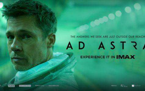 "Escape with Brad Pitt in the new movie ""Ad Astra"""