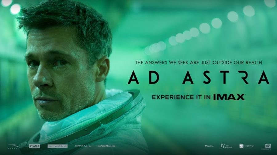 "Escape with Brad Pitt in the new movie ""Ad Astra"""