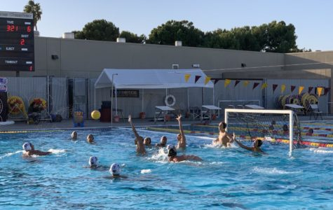 Boys Waterpolo Resists and Fights over their last Game of the Season