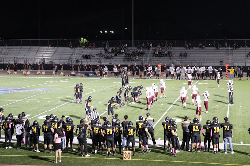 Godinez lost 34-12 to Ocean View highschool at our pink game Friday night at Valley Highschool October 25,2019.