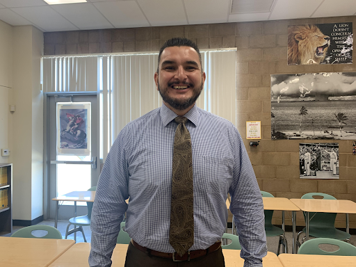 When teacher Emilio Espinoza is not teaching Economics, AP macroeconomics, and coaching football, he is looking forward to spending his winter break with his family. He will be taking his girls to the park, hiking with his family, and maybe even heading to the snow. Espinoza also mentioned that he was