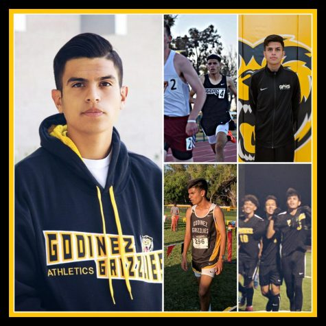 Senior, Anthony Paredes, excelled in three sports: cross-country, soccer & track this year.