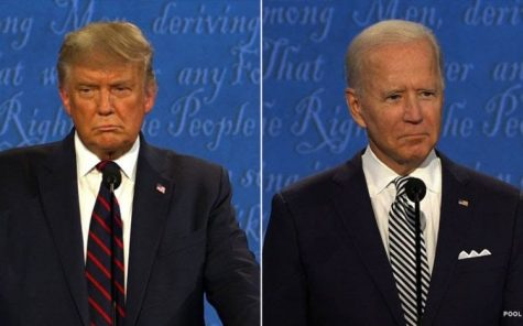 President Trump and former Vice President swap comments during the first presidential debate on Tuesday, September 29, 2020.