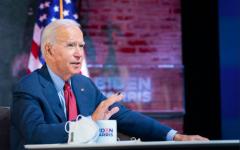 President Elect Joe Biden at a COVID-19 Briefing in Wilmington, Del. Photo taken on October 28, 2020.
