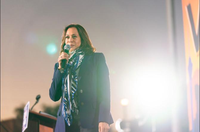 Vice+President+elect+Kamala+Harris+speaks+at+the+GOTV+Event+in+Las+Vegas%2C+Nev.+Photo+taken+October+27%2C+2020.