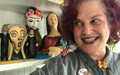 Teacher Finds her Inspiration to Vote from her Art
