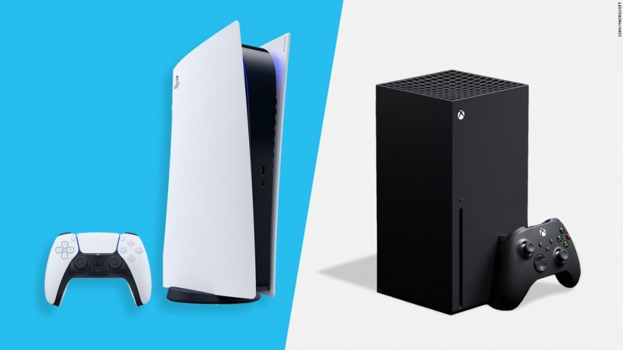 The+Playstation+5+and+Xbox+Series+X++are+side+to+side+in+the+competition+for+gamers+loyalty+and+their+wallets.+