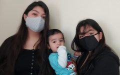 From left to right, the author's sister Yoloczitlali Perez, brother Adriel Armando Perez-Avila, and writer, Britney Perez-Avila wear their masks to stay safe. Photo taken January 25, 2020 at 10:13 a.m.