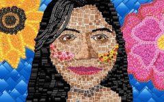 Senior and Art 1 student, Ashley Palemonte, art titled