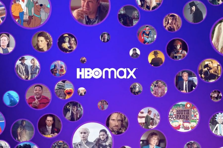 Some of the new offerings shown on HBO Max streaming service.