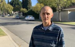 Former employee maintenance mechanic, Jeff Cessna, who retired from Southern Calif. Edison after 32 years, in his Santa Ana neighborhood. Photo taken March 5, 2021 at 8:34 a.m.