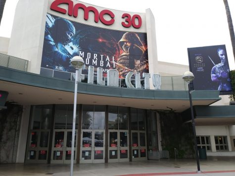 A quiet business day at the AMC Orange 30. Photo taken on Sunday, May 2, 2021 at 3:30 p.m.