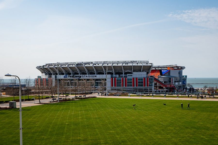 This year the NFL Draft was held in Cleveland, Ohio, at multiple locations around the downtown area including Frist Energy stadium.