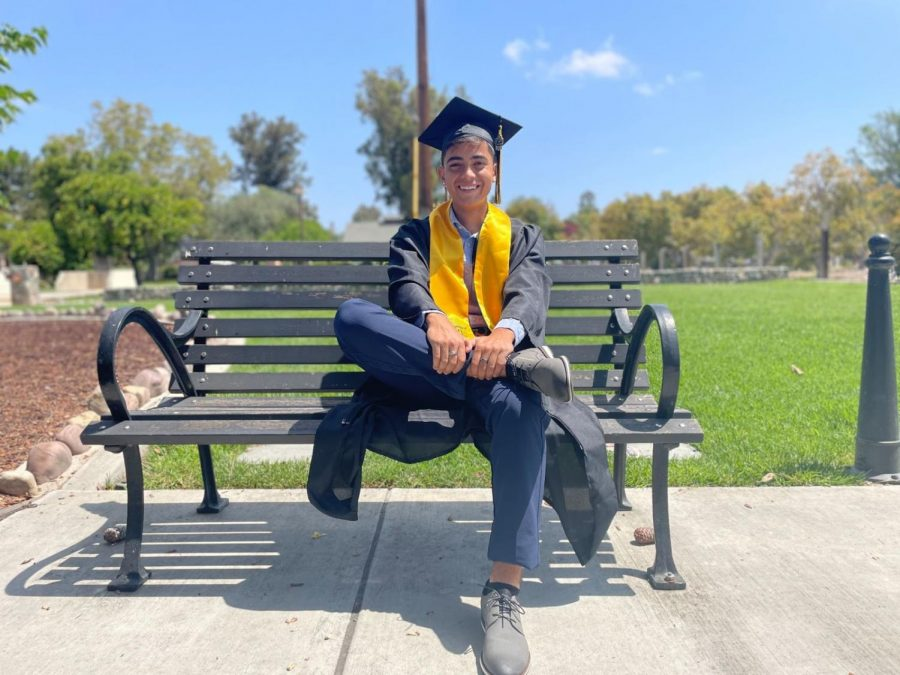 Senior, Daniel Murrieta, has met his goal of maintaining a GPA of 3.0 for all his four years at Godinez Fundamental High School. Murrieta has always tried to keep a schedule that would work with his academics and sports. Not only does he play soccer on-campus but also off-campus. Murrieta is looking forward to his college career and hopes to further his education at Concordia University. He also wants to develop his business of barbering and wishes to continue cutting hair after he graduates. Additionally, Murrieta hopes to advance his career in soccer and wishes to play college level soccer.